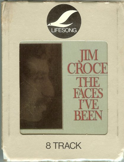 Jim Croce - The Faces I've Been 1975 LIFESONG 8-track tape