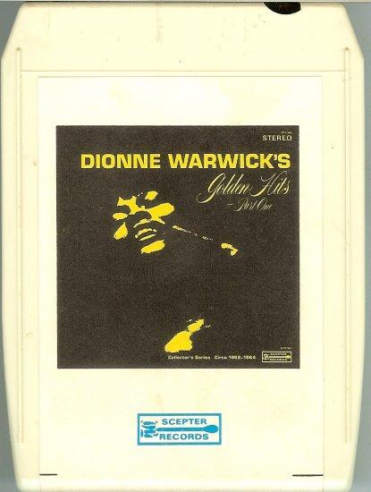Dionne Warwick - Golden Hits Volume 1 SCEPTER 8-track tape