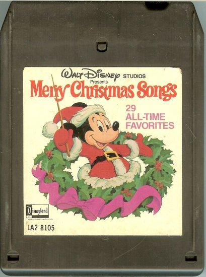 Walt Disney Studios - Merry Christmas Songs 29 All-Time Favorites 1978 DISNEY 8-track tape