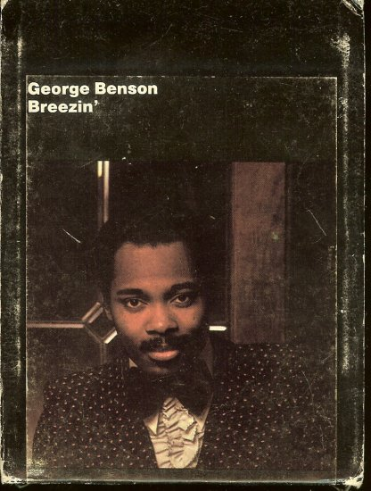 George Benson - Breezin' 1976 WB 8-track tape
