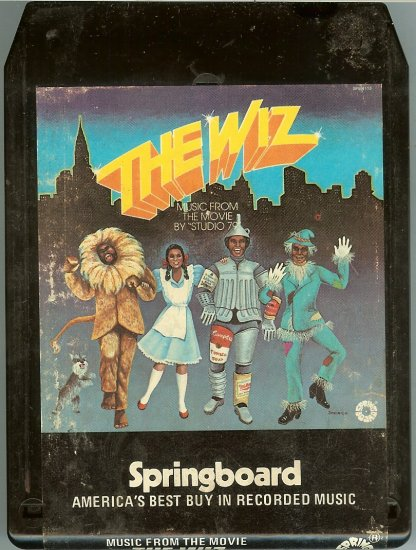 The Wiz - The Motion Picture Soundtrack 1978 SPRINGBOARD 8-track tape