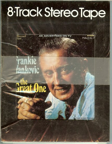 Frankie Yankovic - The Great One Volume 2 Sealed 8-track tape