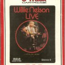 Willie Nelson - Live I Gotta Get Drunk 1966 1976 RCA Re-issue Sealed 8-track tape