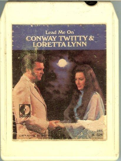 Conway Twitty & Loretta Lynn - Lead Me On 8-track tape
