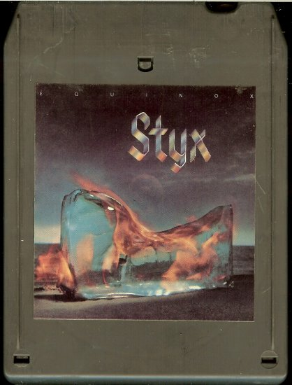 Styx - Equinox 1975 A&M 8-track tape