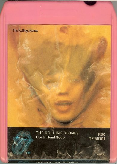 The Rolling Stones - Goats Head Soup 8-track tape