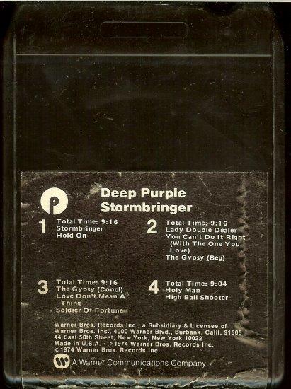 Deep Purple - Stormbringer 1974 WB 8-track tape
