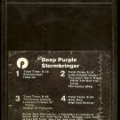 Deep Purple - Stormbringer 1974 WB 8-track tape