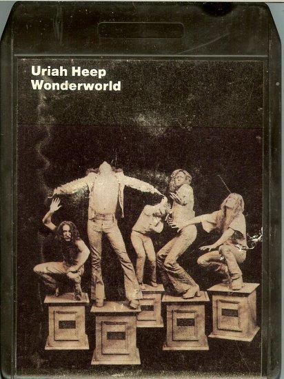 Uriah Heep - Wonderworld 1974 WB 8-track tape
