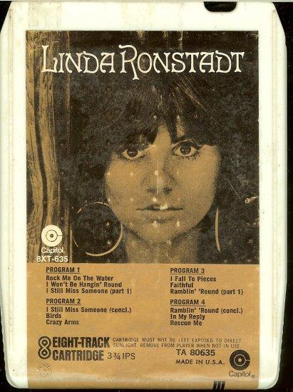 Linda Ronstadt - Linda Ronstadt 1972 CAPITOL 8-track tape