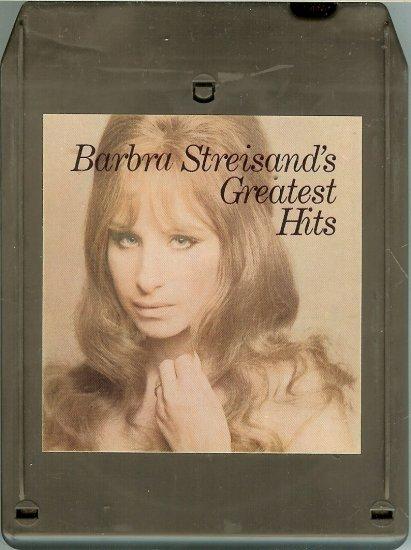 Barbra Streisand - Greatest Hits 1970 CBS 8-track tape