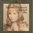 Barbra Streisand - Greatest Hits 1970 CBS 8-track tape