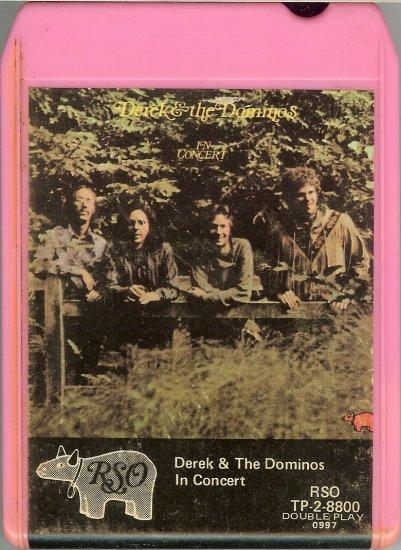 Derek & The Dominos - In Concert 1973 RSO 8-track tape