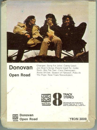 Donovan - Open Road 8-track tape