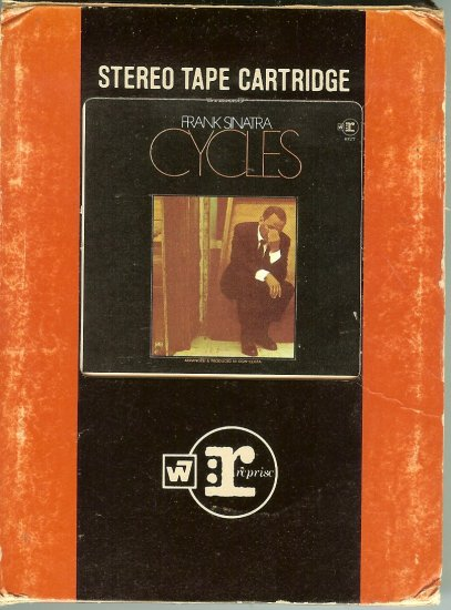 Frank Sinatra - Cycles 8-track tape