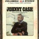 Johnny Cash - From Sea To Shining Sea 1968 CBS TC8  8-track tape