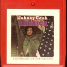 Johnny Cash - America, A 200-Year Salute In Story And Song 1972 CBS 8-track tape