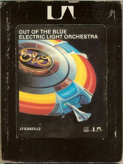 Electric Light Orchestra - Out Of The Blue 1977 UA 8-track tape