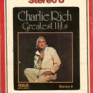 Charlie Rich - Greatest Hits 8-track tape