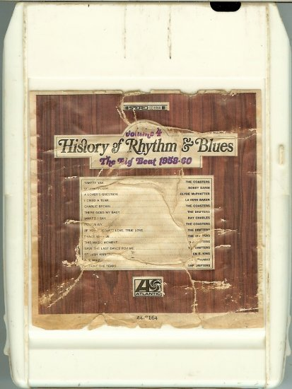 History Of Rhythm & Blues - The Big Beat 1958-60 Vol. 4 8-track tape