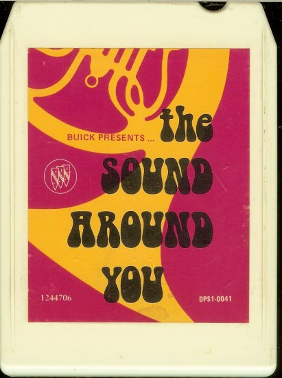 Buick - Presents The Sound Around You 1973 8-track tape