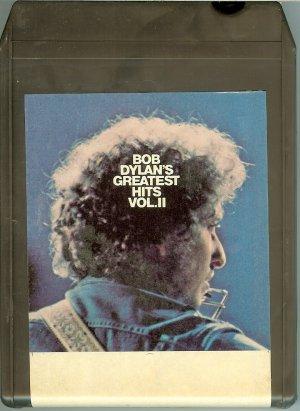 Bob Dylan - Greatest Hits Vol. 2 8-track tape