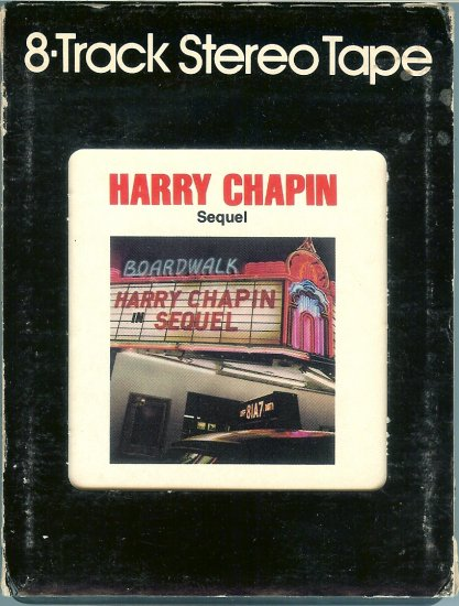 Harry Chapin - Sequel 8-track tape