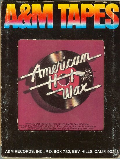 American Hot Wax - Original Motion Picture Soundtrack 8-track tape