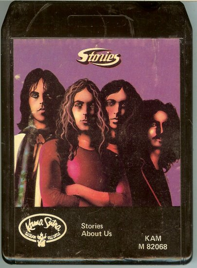 Stories - About Us 8-track tape