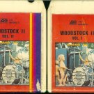 Woodstock II - Volumes I & II Atlantic 8-track tape
