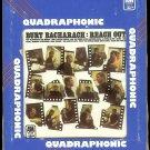 Burt Bacharach - Reach Out Quadraphonic 8-track tape