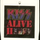 KISS  - KISS Alive II Vol.1 1977 CASABLANCA 8-track tape