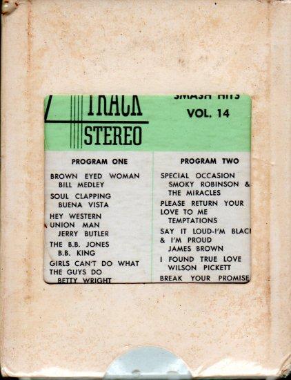 Smash Hits Volume 14 - Compilation Various Soul/Funk Artists (Sealed 4-track tape)