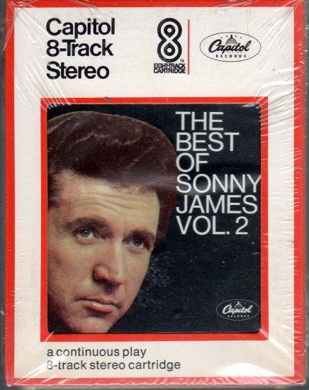 Sonny James - The Best Of Volume 2 1969 CAPITOL Sealed 8-track tape