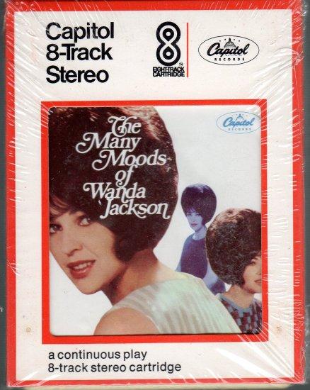 Wanda Jackson - The Many Moods Sealed 8-track