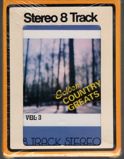 Golden Country Hits - Various Artists Sealed Charm 8-track tape