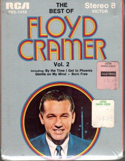 Floyd Cramer - The Best Of Volume II Sealed 8-track tape