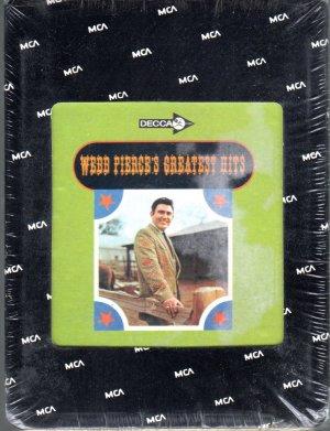 Webb Pierce - Greatest Hits Sealed 8-track tape