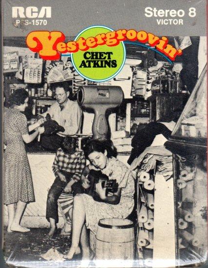 Chet Atkins - Yestergroovin' Sealed 8-track tape