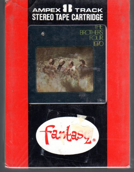 The Brothers Four  -  The Brothers Four 1970 Sealed 8-track tape