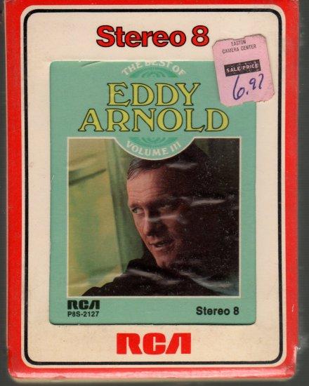 Eddy Arnold - Best Of Volume III Sealed 8-track tape