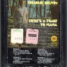 Charlie Louvin - Here's A Toast To Mama Sealed 8-track tape