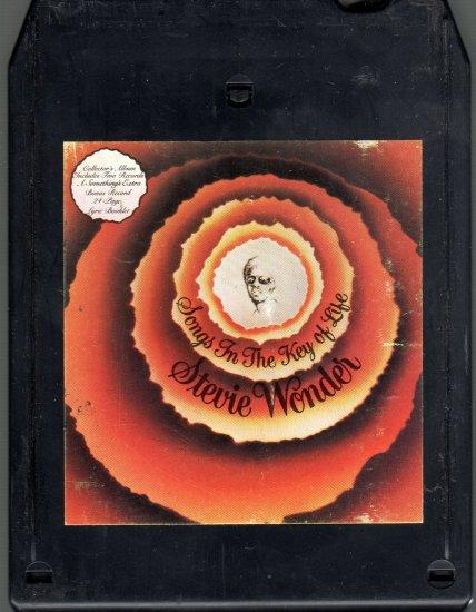 Stevie Wonder - Songs In The Key Of Life Vol. 1  8-track tape