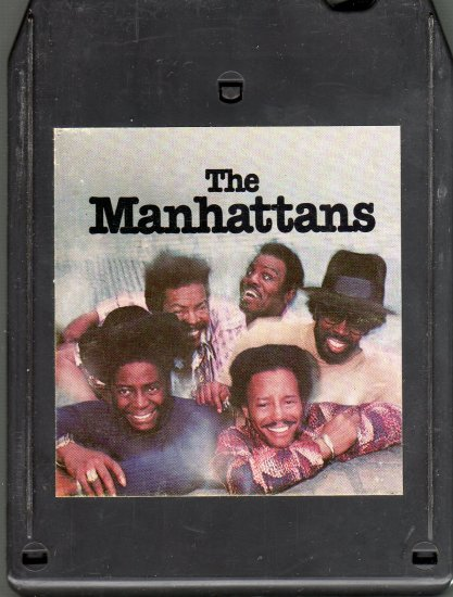The Manhattans - Manhattans 8-track tape