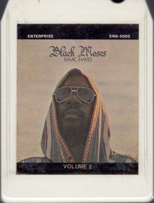 Isaac Hayes - Black Moses Vol. II 8-track tape