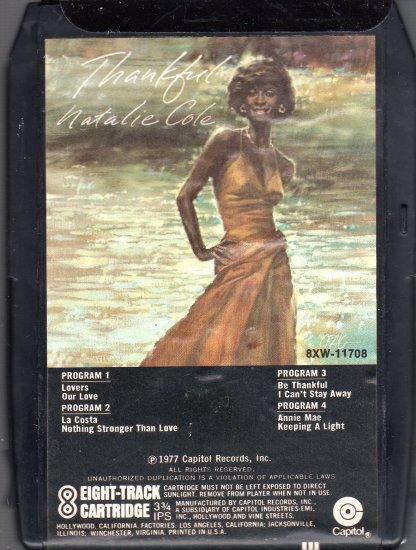 Natalie Cole - Thankful 8-track tape