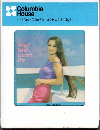 Crystal Gayle - Greatest Hits 1983 CRC 8-track tape