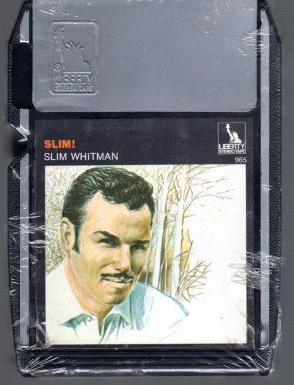 Slim Whitman -  Slim !  Sealed 8-track tape