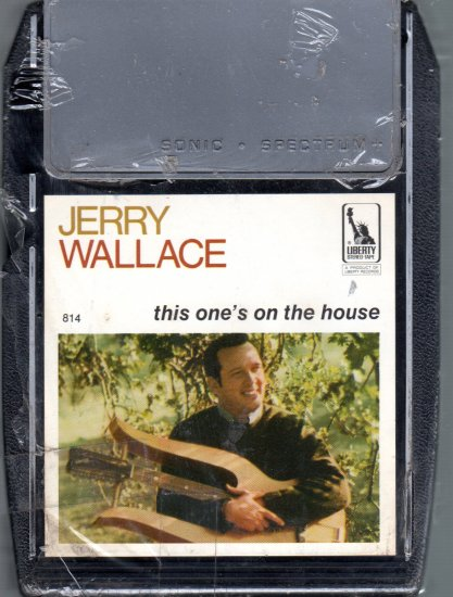 Jerry Wallace -  This One's On The House Sealed 8-track tape