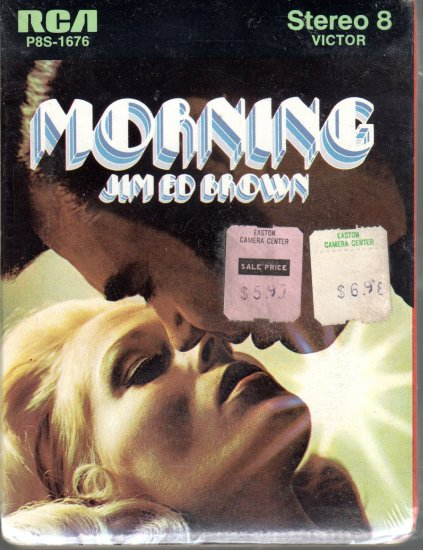 Jim Ed Brown - Morning Sealed 8-track tape